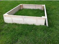"""British Made by hand """"Raised beds"""" for gardens or allotments delivered all over the UK"""