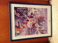 Hockey picture for boys room