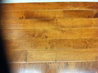 SOLID MAPLE HARDWOOD FLOORING - 80 sq ft - SUMATRA 3.25""