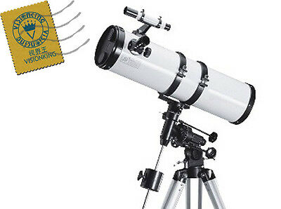 Visionking 6 inches 150 - 750mm EQ Reflector Newtonian Astronomical Telescope