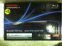 Toshiba Blue-Ray Disc/ DVD Player (USED)