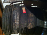 5 855-78-15 Irving Diamond Belted Double Whitewall tires