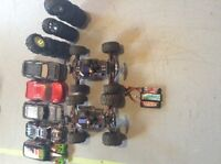 2 Summit 1/16 vxl's rc with upgrades!!!