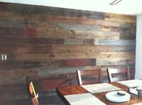 Barn Board/Pallet Walls and Much More!