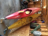 Two river kayaks for sale r5