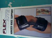 BRAND NEW HINGED KNEE  BRACE SUPPORT FOR THERAPY