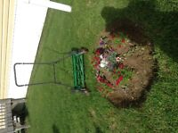 For Sale. excellent condition push mower used only twice, $40.00