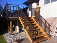 Aluminum Stair Railings, Fences, Motorized Gates