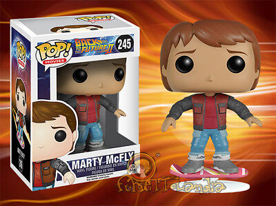 Marty Mcfly Hoverboard To The Future / Zurück in die Zukunft Back Funko Pop Le