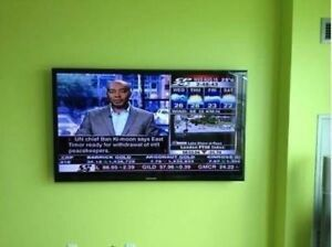 Tv wall mounting - Quick Service416-668-1105