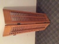 Wooden window shutters 18 sets of 2 available