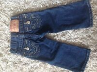 Baby True Religion Jeans and Hoodie