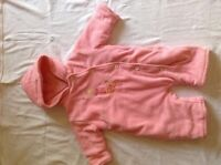 One piece fall suit - 3 months