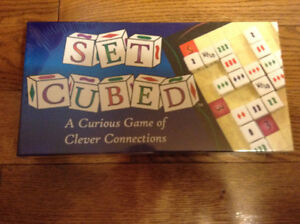 """NEW """"SET CUBED"""" GAME"""