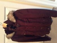 Women's Guess L/XL Jacket with Hood