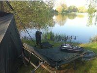 carp fishing setup required