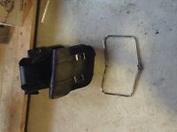 Yamaha 650 Vstar, Leather saddle bags and side brackets