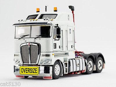 """#Z01366 /""""BURGUNDY/"""" 1//50 Kenworth T909 Drake Truck Tractor"""