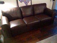 Moving sale!! MUST GO (couch & arm chair)