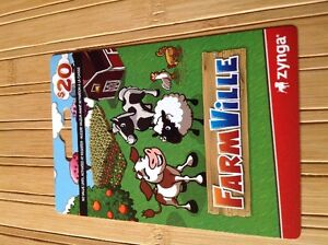 FarmVille Gift Card.