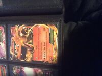 Pokemon cards- 300 code cards + charizard for additional $10