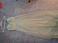 2 dresses only worn once at a wedding size 8  jcrew ,