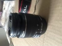 Canon Rebel ti3 digital SLR and extras