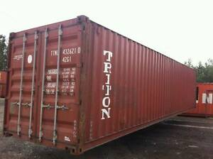 40' Used Shipping container