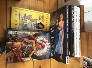Lot Comic book hardcover grimm fary tales graphic novel
