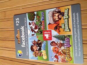 Facebook Gift Cards. London Ontario image 1
