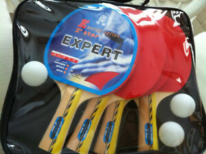 Table Tennis paddles, pingpong racquets, ping-pong equipment NEW