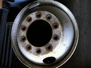 """2 roues """"bud wheel"""" en acier"""