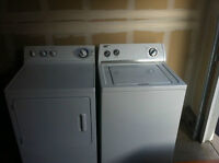 Maytag washer. with dryer
