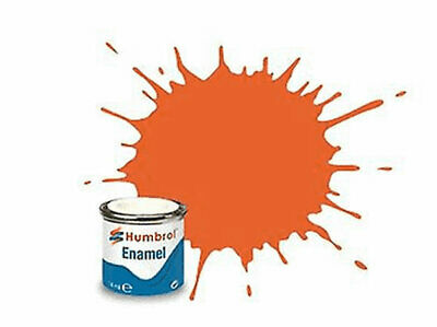 Pintura Enamel orange lining matt 82 Humbrol AA0905 14ml