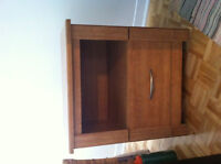 3 piece bedroom set for sale - Nightstand and 2 dressers