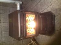 Enviro wood pellet stove