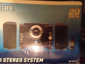 Coby Stereo System
