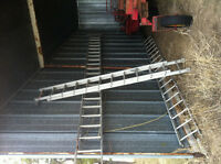 Step Ladders - 1 - 36 foot  1 - 28 foot