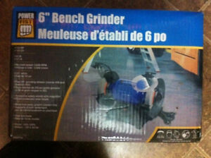 """BRAND NEW! 6"""" bench/table grinder"""