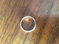 Found Silver Ring with inside engraving (LCBO Woodbridge)