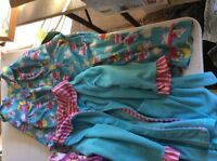 2 piece pjs with housecoat 2T