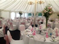 *** Wedding/Event White Chair Covers *** £1.50 A Chair !! Birthday, Christening, Party, Baby Showers