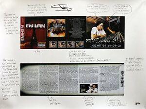 Eminem autograph