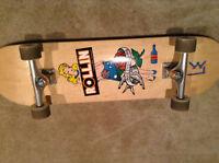 Skateboard de bonne qualité, peu utilisé