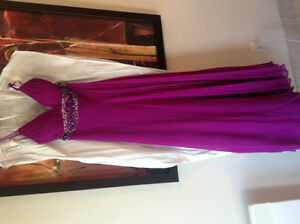 Evening Gown - Silk-Size 6-8