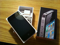 iPhone 4 mint condition 30 days warranty + free case