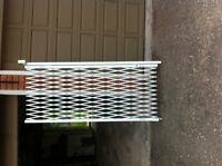 Loading door security gates