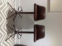 Pair of Retro Bar Stools