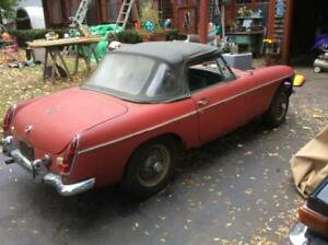 Wanted - An MGB parts car.