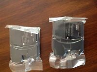 Two brand new black ink cartridges